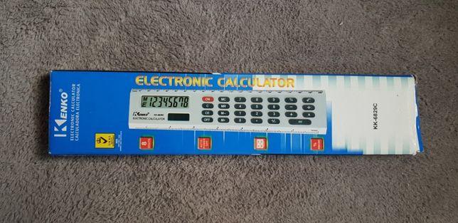 linijka z kalkulatorem kalkulator