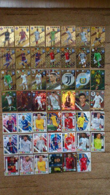 Karty piłkarskie-48 sztuk-OKAZJA !