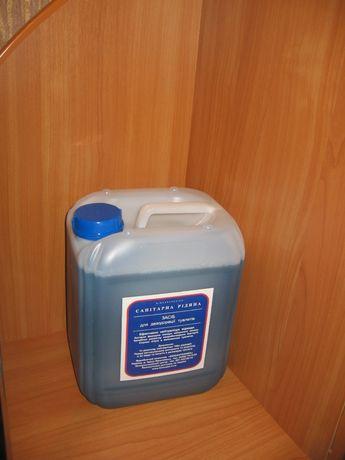 Растворитель отходов в биотуалет, туалет, септик, колодец для стоков