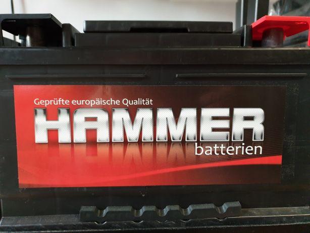 NOWY akumulator HAMMER 75AH 680EN Jawor 24m gw + gratis