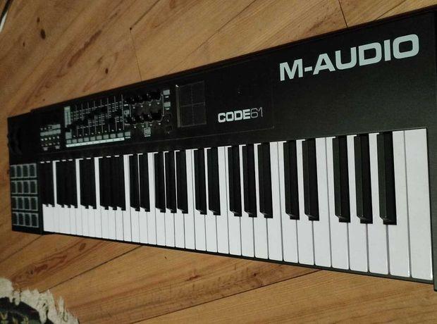 Teclado Midi - M audio Code 61