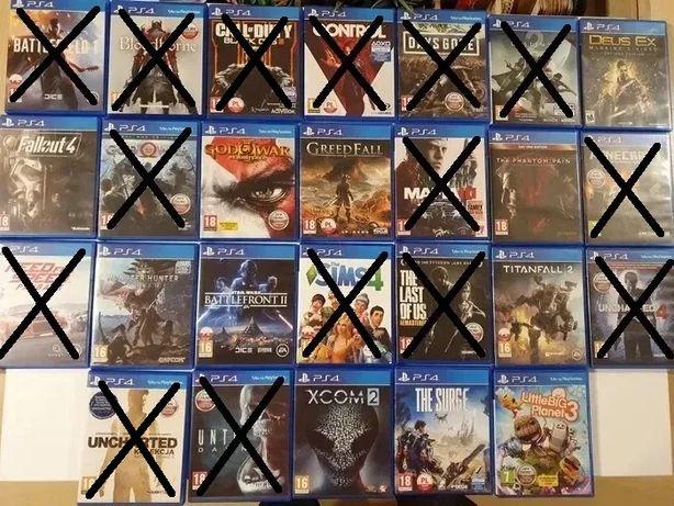Wyprzedaż gier PS4