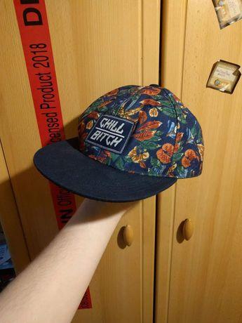 Cropp czapka Snapback kwiaty