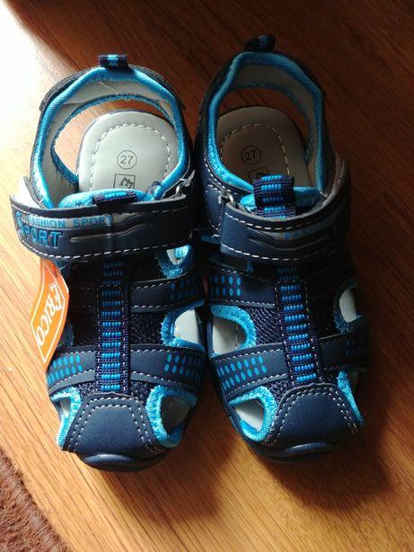 Sandałki dla chłopca 27