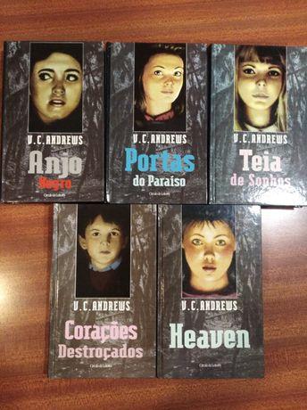 Coleção V.C Andrews 5 Livros