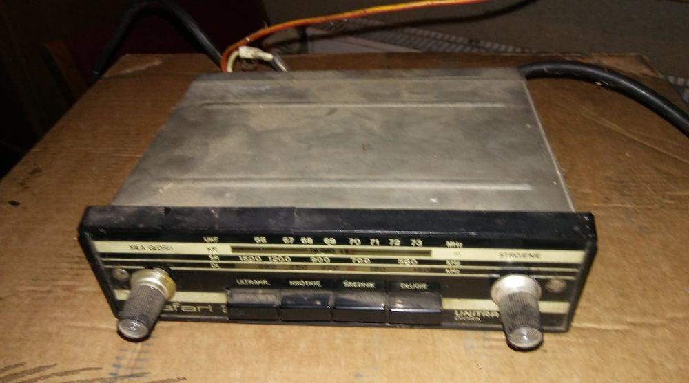 Radio unitra Safari 2 fso, syrena, żuk, nysa Morąg - image 1