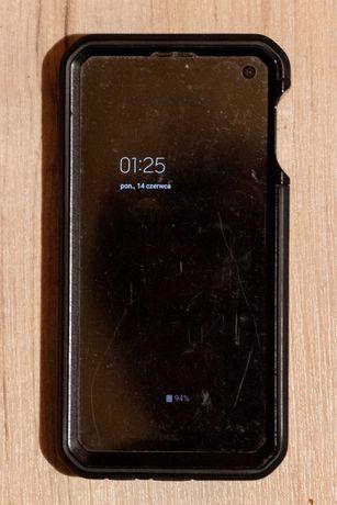 Samsung s10e z mocnym etui, stan idealny