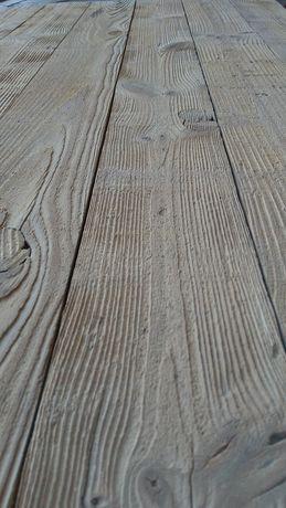 BLAT piaskowany na stolik ławę okiennice pomost boazeria stare drewno