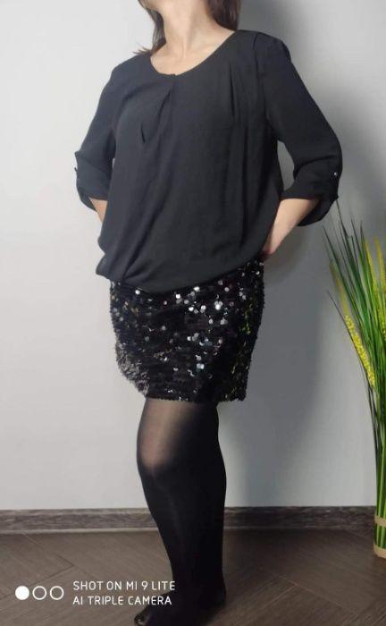 Sukienka cekiny , fason 2020 mega cena ostatnia sztuka Mieszkowice - image 1