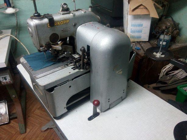 Петельная глазковая машина Durkopp 558