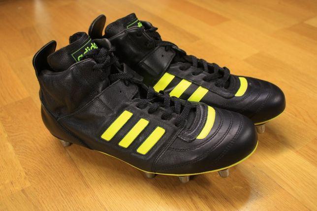 Adidas Flanker v.6 мужские бутсы НОВЫЕ кожа оригинал футбол регби 44