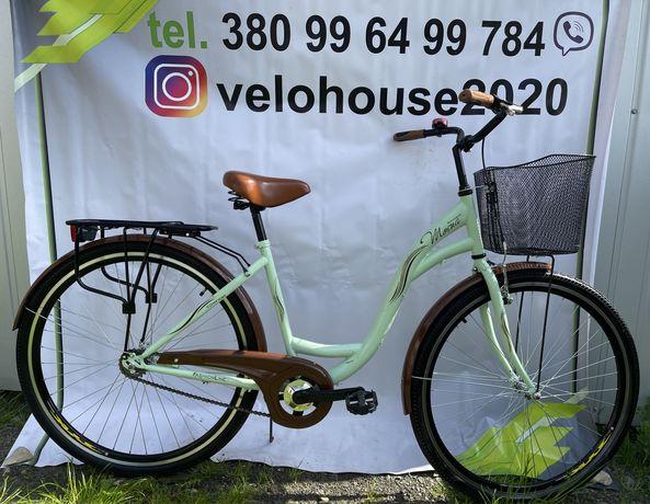 Велосипед жіночий, на 28 колесах, дамка, з Європи, женский!!!