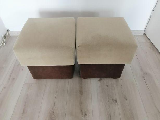 Dwie pufy solidne wykonanie, od Pana Kopacza