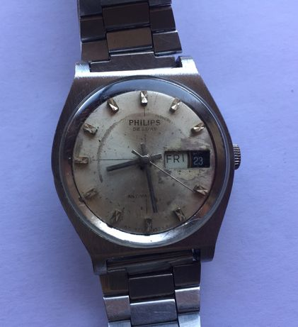 Relógio mecãnico antigo, PHILIPS