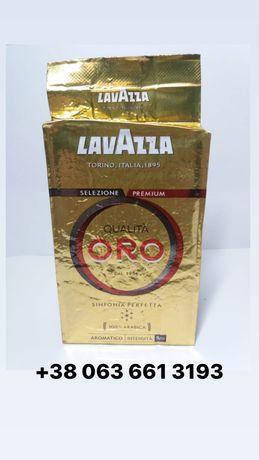 Итальянский молотый кофе лаваца Lavazza Oro, Rossa, Crema aroma