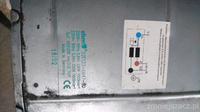 Wentylator promieniowy EBM PAPST D2E133 AM47