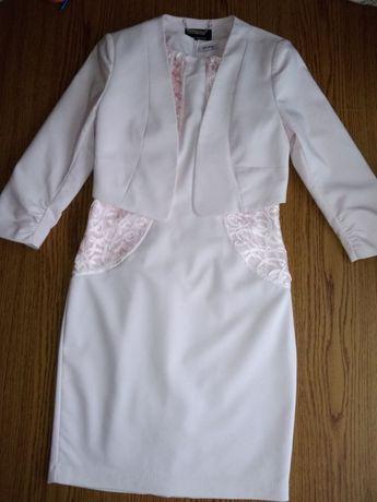 Sukienka ołówkowa i żakiet 3/4 rękaw ORSAY
