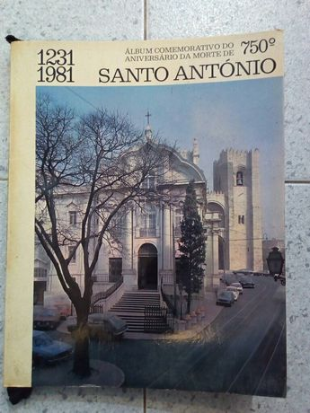 Livro comemorativo do 750º do Aniversário da morte de Santo António