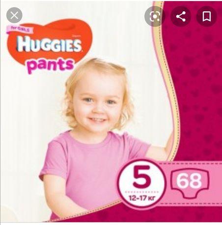 Памперси підгузники трусики huggies pants 5