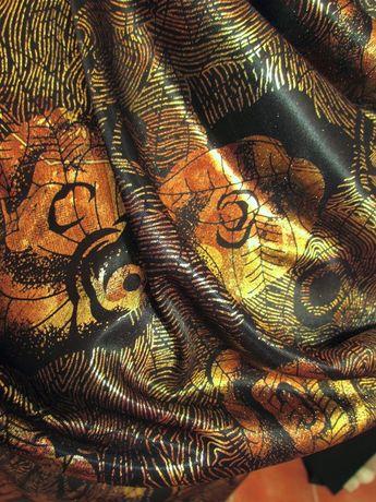 Kupon 5m piękna włoska tkanina sukienki bluzki spodnie spódniczki