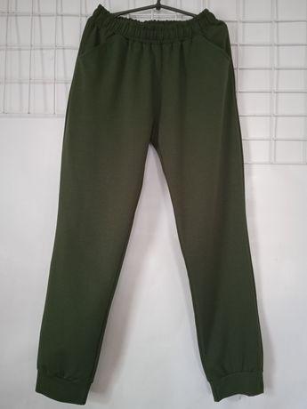 Штаны для женщин больших размеров двунитка