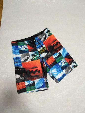 Яркие пляжные молодежные шорты 33/34 48/50 L Billabong,щорти