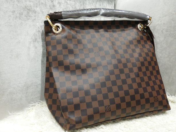 Piękna torebka Louis Vuitton artsy damier ebene cudo premium.