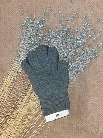 Перчатки детские h&m 3 пары