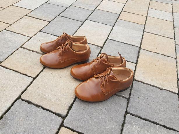 Buty eleganckie dla braci