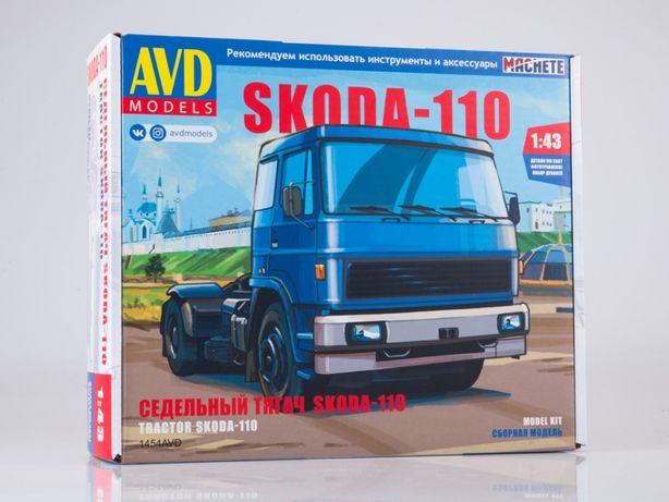 Сборная модель (кит) Skoda-110, Автомобиль в деталях 1454AVD