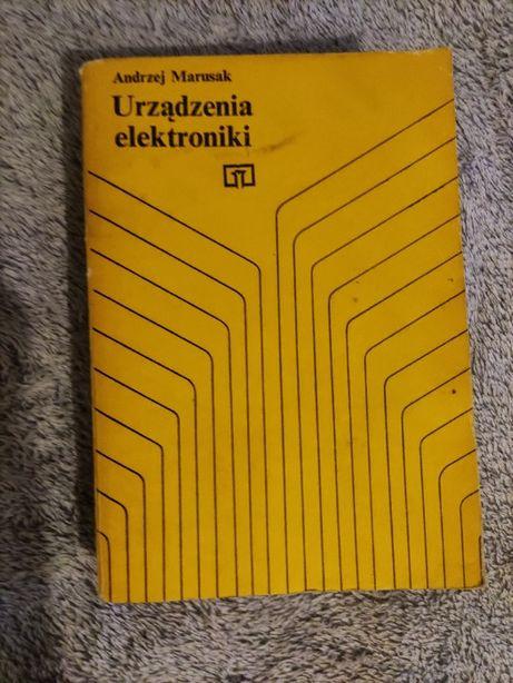 Książka Urządzenia elektroniki Andrzej Marusak