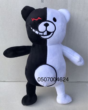 Мягкая игрушка медведь Монокума,Monokuma 35см