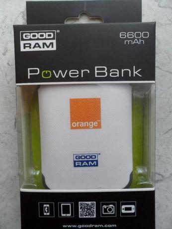 power bank 6600mAh ładowarka zasilacz