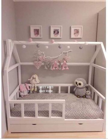 Lóżko Domek Bed House Łóżko Drewniane