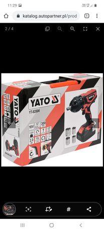 Udarowy klucz akumulatorowy YATO