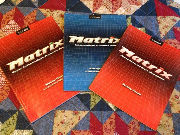 Британский английский MATRIX, учебник, ключи, рабочая тетрадь, б/у