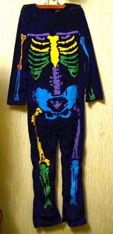 аниматорский костюм скелет Хелоуин,костюм Бетмэна с шапочкой,попугай