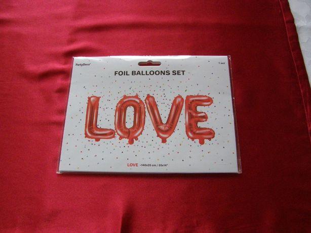 Balony love 40cm.