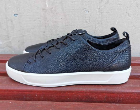 Кожаные кеды кроссовки ботинки 40 р. Ecco Soft 8 Оригинал