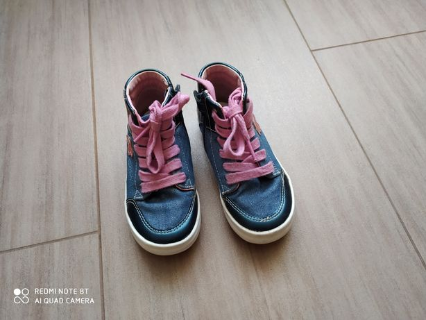 Trampki, buty Geox 25, wkładka 16,5 cm.