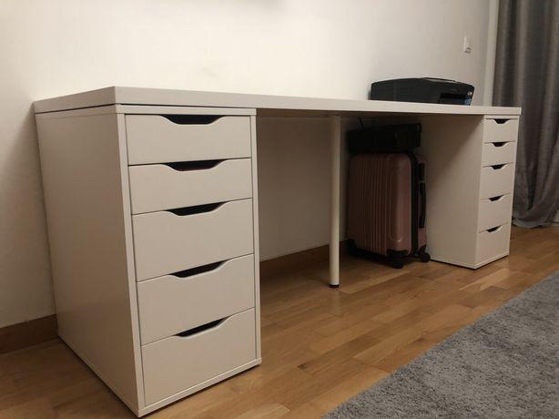 Secretária branca Ikea