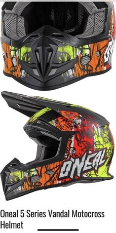 Шлем ONeal 5 Series Vandal Motocross