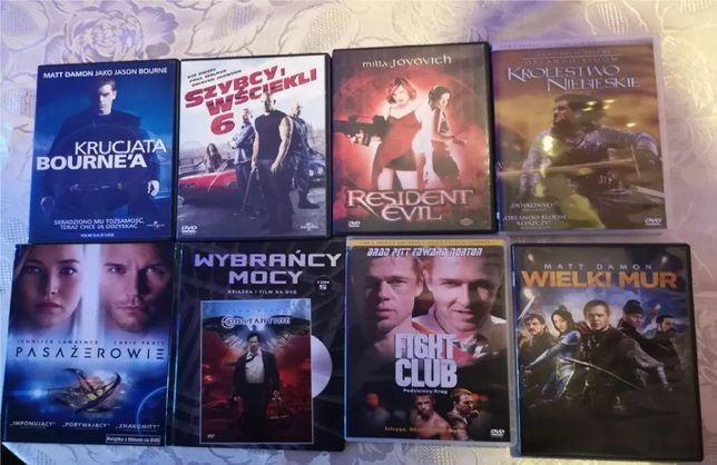 Wielka paczka filmów DVD - 57 sztuk