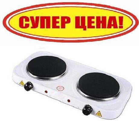 Новая электроплита Domotec 2000Вт, плита / печь настольная дисковая