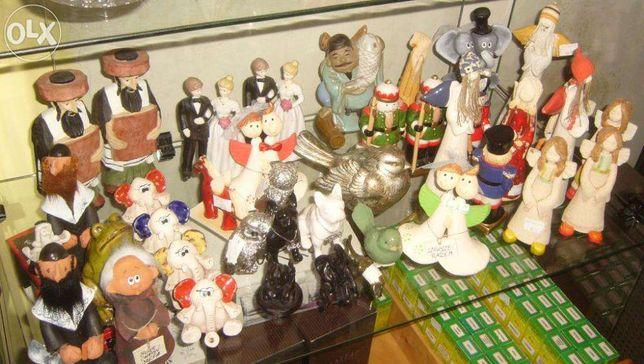 Figurki różne - PRL