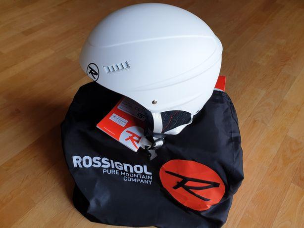 Nowy kask Rossignol Toxic 3.0 58,60cm biały