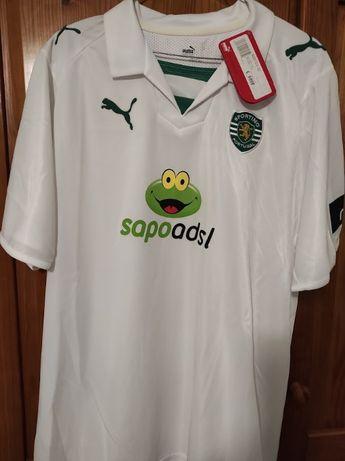 Camisolas oficiais Sporting SCP (Várias Épocas)