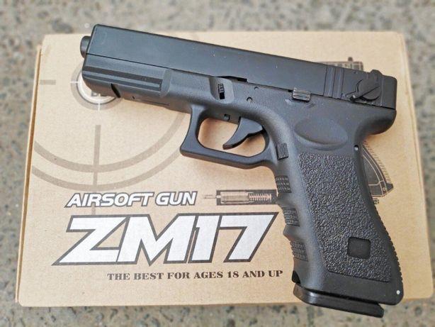 Детский игрушечный пневматический пистолет CYMA ZM17