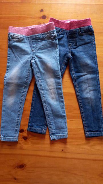 Jegginsy jeansy Pepco r.92 (98 na metce)