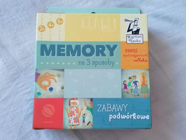 Memory na 3 sposoby Kapitan Nauka